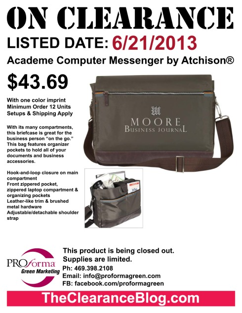 """With its many compartments, this briefcase is great for the business person """"on the go."""""""