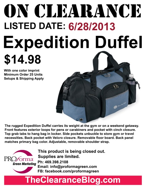 The rugged Expedition Duffel carries its weight at the gym or on a weekend getaway.