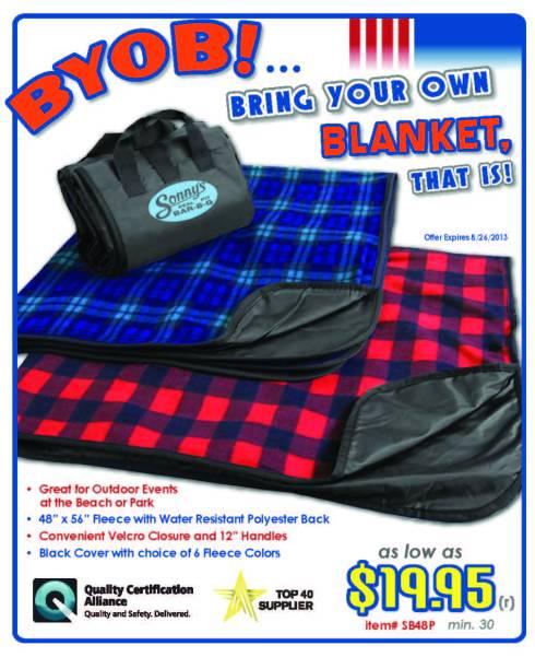 Blanket Sale Exp. 8/31.