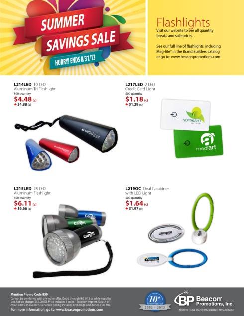 SUMMER SAVINGS SALE on top Brand Builders items!