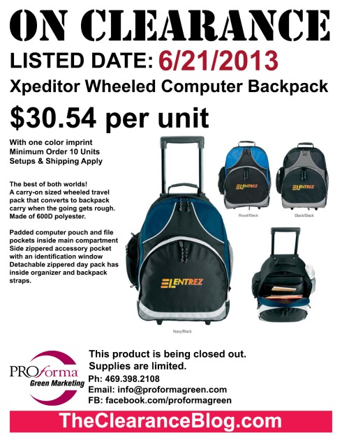 A carry-on sized wheeled travel pack that converts to backpack carry when the going gets rough. Made of 600D polyester.