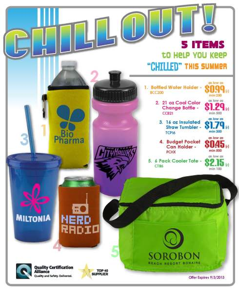Five items to keep you chill this summer.
