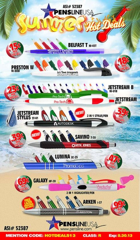 Pen Summer Hot Deals