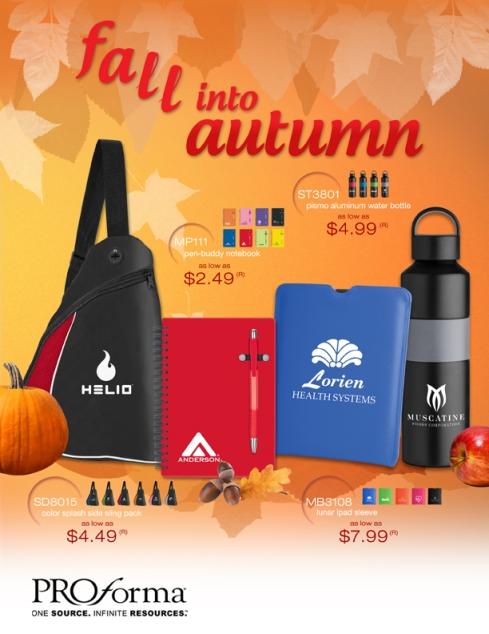 Fall Promo Ideas