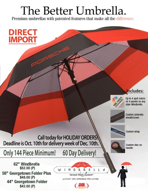 Direct Import on Umbrellas Save You Money.