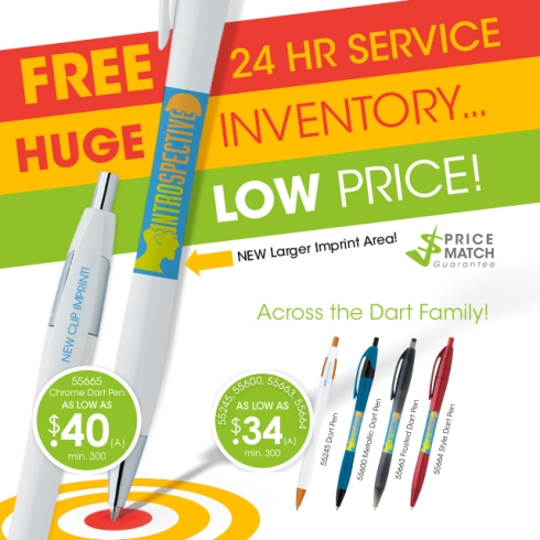 Norwood Dart Pen - FREE 24 Hour Service, HUGE Inventory, LOW Price.