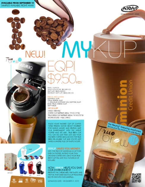 I LOVE MYKUP! - EQP PRICING! FOR KEURIG MACHINES!