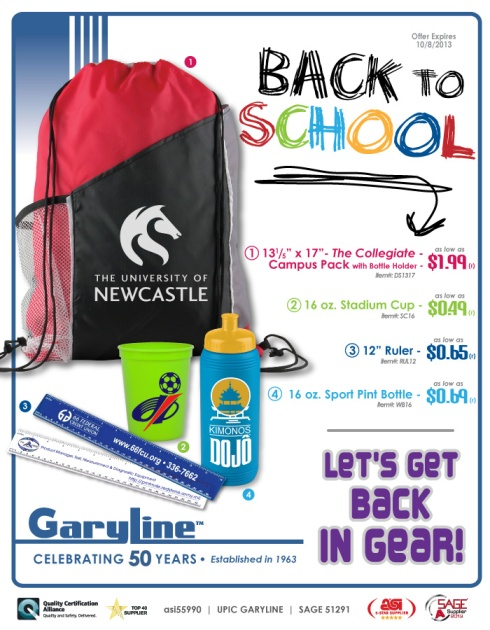 Let's Get in Gear with Back to School Savings!