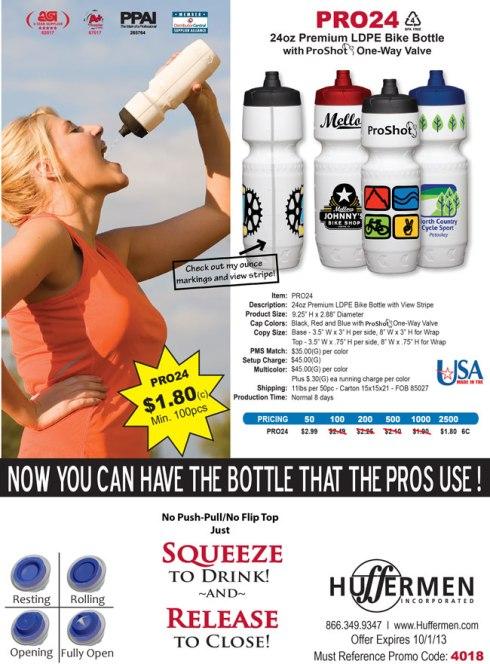 ProShot Bottle $1.80c - 100 pc Min.
