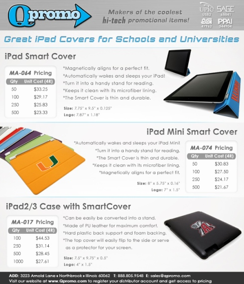 NEW iPad Cases for Schools and Universities