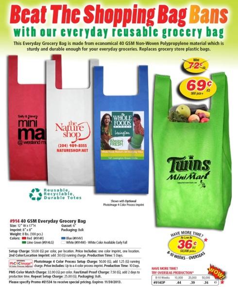 Beat the Shopping Bag Bans.