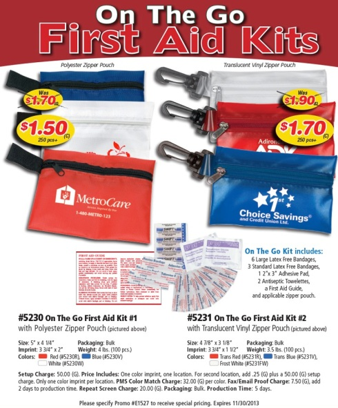Take the Guesswork Out of First Aid.