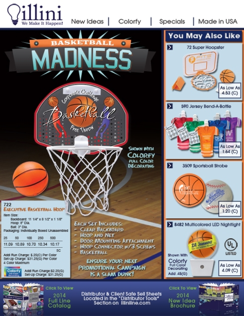 Basketball Madness is about to hit. Are you ready?