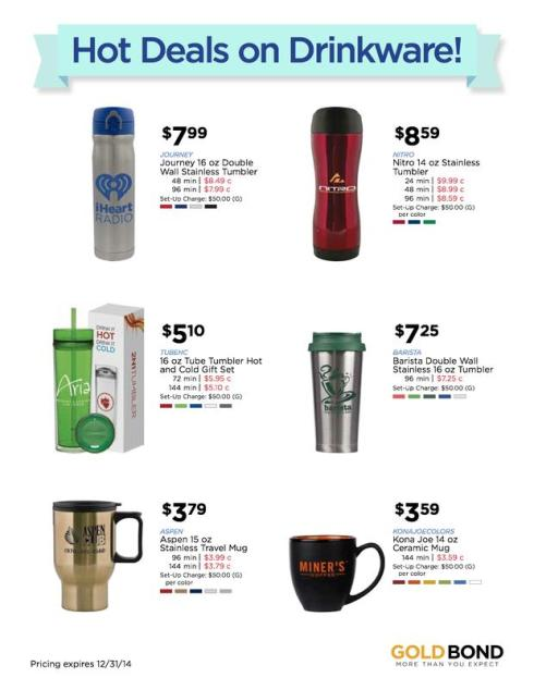 Warm Up Your Winter with These Hot Items from Gold Bond!