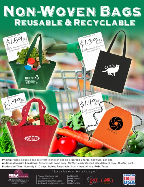 Tote Bags with Low Minimums
