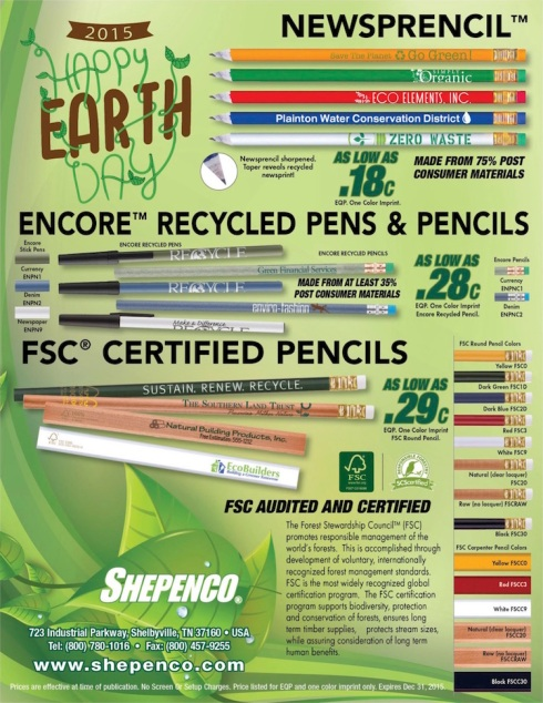 Still Time To Order!  Earth Day is April 22nd